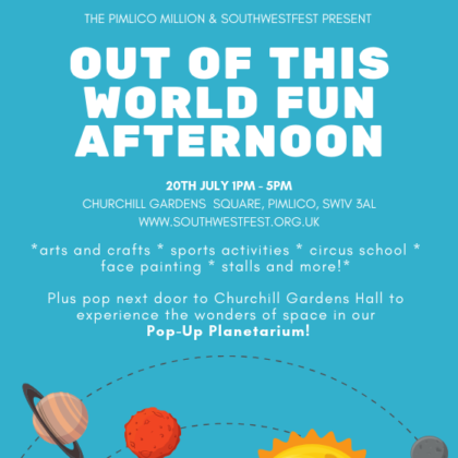 Who's joining us for our Out of this World Fun Afternoon?