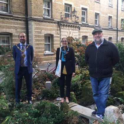 Lord Mayor visits Pimlico Million