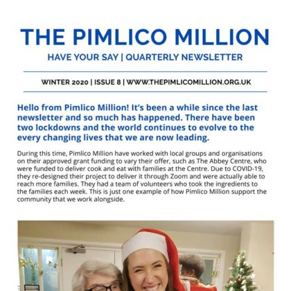 The Pimlico Million Newsletter image